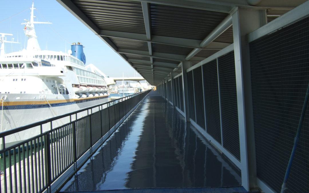 Pasarela Puerto de Barcelona